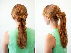 10 maneras elegantes de recoger tu pelo con una cinta - Kvik.cl