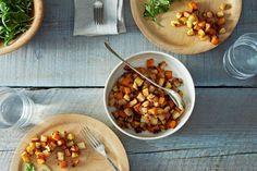 Menu Plan: Miso-Maple Roasted Roots + Miso-Creamed Kale