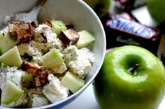 Snickers Salad. The Potluck Dish Everyone Loves.