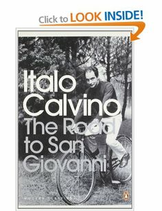 The Road to San Giovanni, Italo Calvino. Been thinking lately about how this book is written and the lessons it gives in discussing memory.