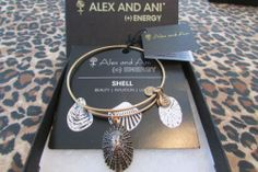 Want Discontinued Alex And Ani Bracelet Mollusk Retired Russian Gold Ebay