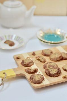 Biscuits au thé rooibos caramel | Cath Cuisine