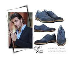 A fashion look created by Nura-Fashion featuring Bagatto Leather Italian Shoes New Collection Blue Italian Shoes, Designer Shoes, Men's Shoes, Fashion Shoes, Leather, Blue, Shopping, Collection, Style