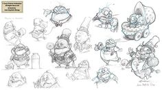 Sony Pictures Animation (2009) - 1st Steps on Behance