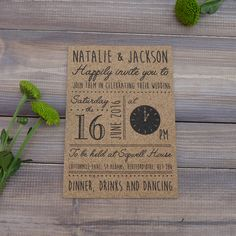 Impress your wedding guests with this fabulous cork wedding invite. Designed for anyone looking for a range of alternative wedding stationery, It's the perfect way to add a little quirkiness into your wedding day. #weddinginvite #corkweddinginvite #corkinvites #quirkyweddingstationery #weddingstationery #rusticwedding
