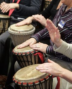 Drum.....A LOT!!!!  Drum with family, friends, community and with the world!!! :)