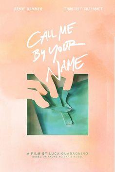Call Me By Your Name alternative movie posters minimalist Book Cover Design, Book Design, Tribute Von Panem Film, Alternative Kunst, Logo Inspiration, Film Poster Design, Graphisches Design, Plakat Design, Alternative Movie Posters
