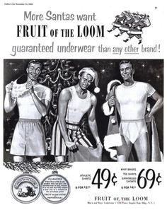 the pantyhose loom of ads Fruit