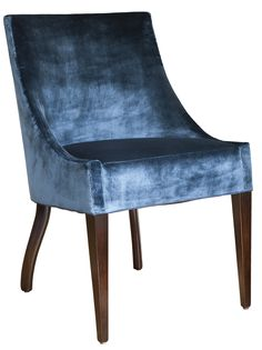 Coco Dining Chair Traditional, Upholstery Fabric, Dining Room by Studio William Hefner