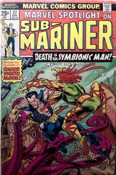 The Savage Sub-Mariner Marvel Comics Geek Reading by Arttolike