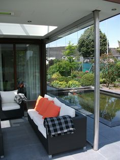 Specialist in verandabeglazing Outdoor Sofa, Outdoor Furniture Sets, Outdoor Decor, Home Decor, Decoration Home, Room Decor, Interior Design, Home Interiors, Interior Decorating