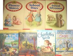 PIONEER CHAPTER BOOKS Laura Ingalls Wilder WIZARD OF OZ WIND IN THE WILLOWS Wilder Book, Puff The Magic Dragon, Pioneer School, Sister Day, Berenstain Bears, Laura Ingalls Wilder, English Book, Chronicles Of Narnia, Animal Books