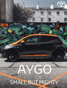 Stand out with the vibrant orange theme of the Toyota Aygo JBL Edition, finished in Electro Grey with a Mandarin Pop roof and accents. Click to find out more. #Toyota #ToyotaAygo #Aygo #NewCars #CityCar #CompactCar #JBL #SoundSystem Toyota Aygo, Sound Library, Ford Sierra, Uk Magazines, Android Auto, City Car, Entry Level, Manual Transmission
