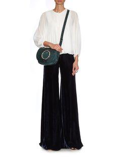 Small Janis python and suede bag | Emilio Pucci | MATCHESFASHION.COM UK | #MATCHESFASHION