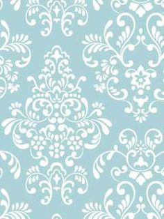A Fun Damask Print Perfect For A Young Girl S Bedroom From The Wallpaper Book Just