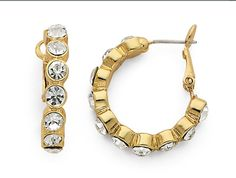 Fall/Winter 2012  City Chic Hoops-Clear/Gold  #93348 $29.00