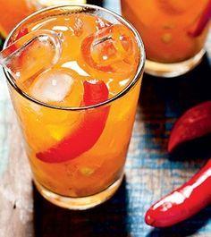 Caipirinha de tangerina com pimenta dedo-de-moça (Foto: Ricardo Corrêa/Casa e Comida)