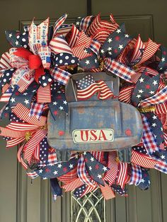 Wreaths | Littlebirds Wreaths And Things | Patriotic Wreath Gallery