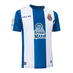 cabb0fa155a2 Espanyol 18 19 Home Men Soccer Jersey Personalized Name and Number