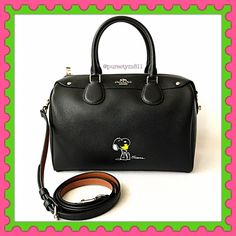 """Authentic Coach Limited Edition Leather Bag % AUTHENTIC✨ Gorgeous limited edition leather handbag from Coach! Lightweight & very spacious. Length 11"""" Height 7"""" Width 6"""" w/ adjustable & detachable long strap! Very versatile! Crossbody, shoulder & top handle bag. Color: Black with silver tone hardware. 3 interior pockets & 1 exterior back compartment. Bottom feet for protection. NO TRADE  Coach Bags Satchels"""