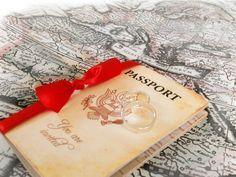 Passport invitations-Love!