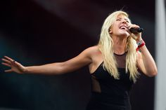 Ellie Goulding Concert Photos at Hangout Festival in Gulf Shores, AL on May 19, 2013