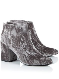 SENSO Jaclyn Velvet Ankle Boots - On Site Now!