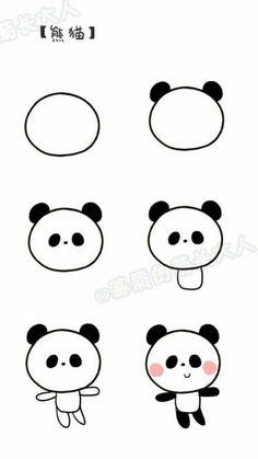 Cute Easy Drawings Best 25 Easy Doodles Drawings I… Easy Doodles Drawings, Easy Cartoon Drawings, Cute Easy Drawings, Art Drawings For Kids, Kawaii Drawings, Animal Drawings, Drawing Animals, Cartoon Cartoon, Cute Easy Doodles