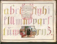 Tochtermann, Hieronymus: Schreibmeisterbuch - SuStB Augsburg 4 Cod Aug 272, Augsburg, 1731-1733