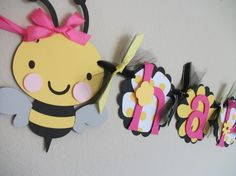 bee party banner