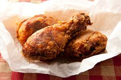 Basic Buttermilk Fried Chicken - I've got a whole bunch of chicken legs hanging out in the freezer