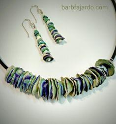 Barb Fajardo - Polymer Art Jewelry