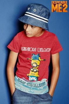 Buy Red Minion Surf T-Shirt (3-12yrs) from the Next UK online shop