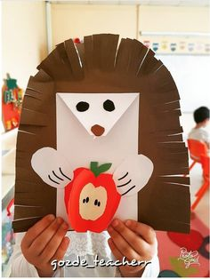 ✔ Animals Crafts For Preschoolers Art Projects Christmas Crafts For Toddlers, Animal Crafts For Kids, Art Activities For Kids, Toddler Christmas, Preschool Crafts, Diy Crafts For Kids, Art For Kids, Fall Paper Crafts, Autumn Crafts