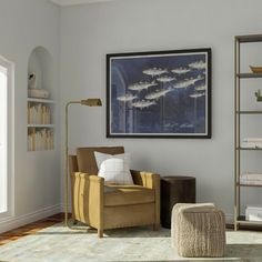 7 Ways To Try The Animal Portrait Trend In Your Home. Modern Living Room  FurnitureSmall ...