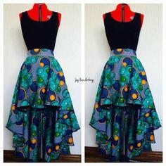 African Print Skirt, African Print Dresses, African Dresses For Women, African Wear, African Women, African Outfits, African Prints, African Fashion Skirts, Ghanaian Fashion