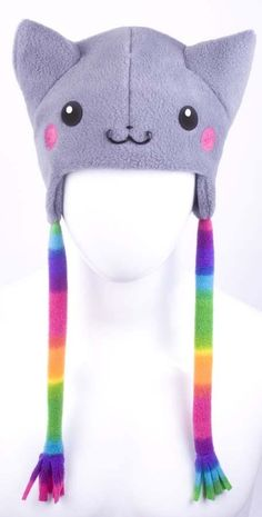 nyan nyan cat hat things-to-cover-and-or-decorate-your-body-with