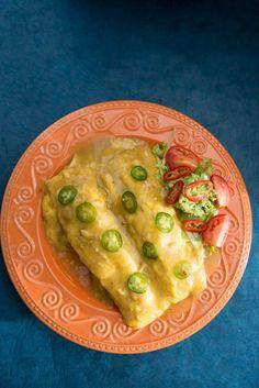 Heart Healthy White Chicken Enchiladas. #MHheart