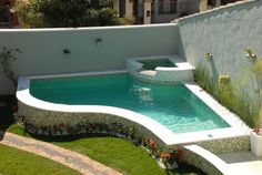 Having a pool sounds awesome especially if you are working with the best backyard pool landscaping ideas there is. How you design a proper backyard with a pool matters. Swimming Pool Landscaping, Small Swimming Pools, Small Backyard Pools, Backyard Pool Designs, Above Ground Swimming Pools, Small Pools, Swimming Pool Designs, Above Ground Pool, Pool Decks