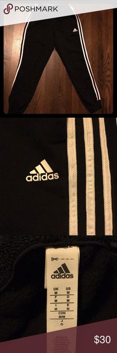 Men's Adidas Sweatpants Like new, fleece inside, only worn on one walk of shame adidas Pants Track Pants & Joggers