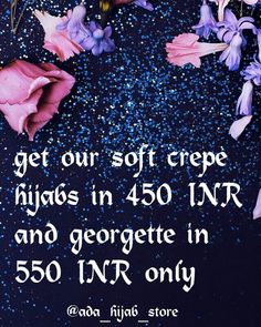 Get plain hijabs in more thn 30 colours in just 450 and 550 INR from our instagram page @ada_hijab_store Mumbai based