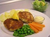 Rybí karbanátky se zeleninou