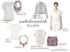 Wardrobe Essential | White T #2 | My Lisbon Lifestyle