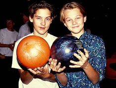 Tobey Maguire And Leonardo Dicaprio Met At An Audition At A Young Age. Best Buddies Since The 90's