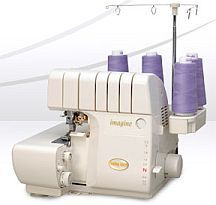 My Baby Lock Imagine Serger has never let me down. I love the air jet threader system, and sewing on a serger is fast.