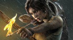 Lara Croft, Tomb Raider art,so cool. Tomb Raider 2018, Tomb Raider Game, Tomb Raider Lara Croft, Fantasy Characters, Female Characters, Arcee Transformers, Tom Raider, Lara Croft Cosplay, Laura Croft