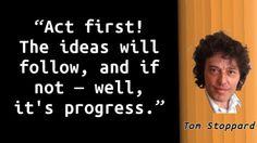 Tom Stoppard - Progress