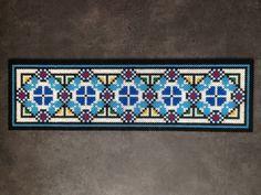 Bead Traditional Romanian motif by rares4.deviantart.com on @DeviantArt
