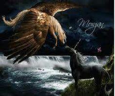 Pegasus And Unicorn Tags Pegasus Unicorn Pictures Unicorn Images, Unicorn Pictures, Unicorn Horse, Unicorn Art, Magical Creatures, Beautiful Creatures, Fantasy Creatures, Elf Warrior, Gifs
