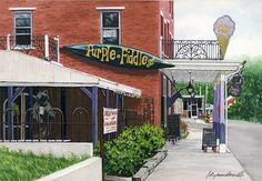 Purple Fiddle located in Thomas, West Virginia...A great place to have a great time